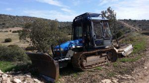 Tractor Forestal de Cadenas